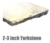 2-3 Inch Yorkstone Paving