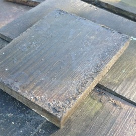 210 sq m Reclaimed Yorkstone Paving - 24 inches wide | September 2015