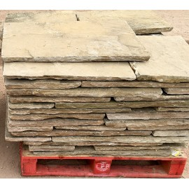 230 sq m Reclaimed Indian Sandstone | 20th Sept 2016