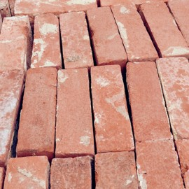 20,000  Hand Made Red Bricks | August 2015
