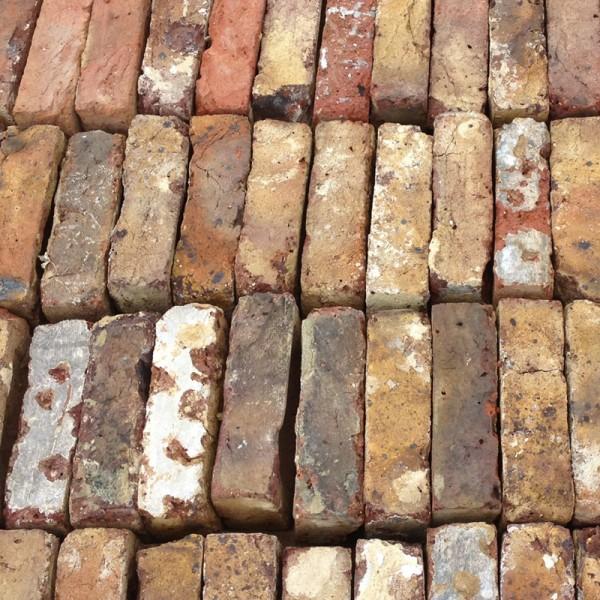 Reclaimed Multi Stocks Bricks - Cleaned & Palleted