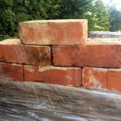 SPECIAL OFFER MUST GO - Red wire cut bricks sale