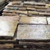 3-4 inch  Reclaimed Yorkstone Flagstones