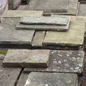 450 Sq yds of Smooth Reclaimed Yorkstone Paving