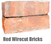 Red Wirecut Bricks