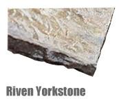 Riven Yorkstone Paving