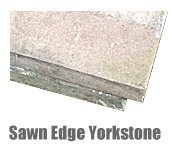 Sawn Edge Yorkstone Paving