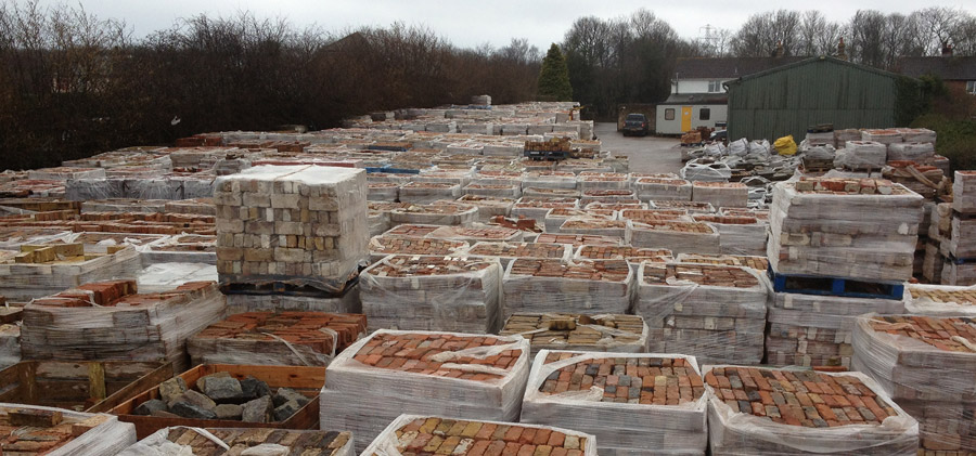 About Reclaimed Bricks and Yorkstone
